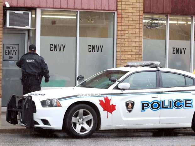 Police raid suspected illegal cannabis dispensary in Windsor, two charged