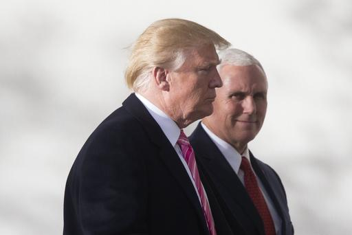 Trump made 'suggestion' Pence stay at president's Irish golf club, VP's chief of staff says